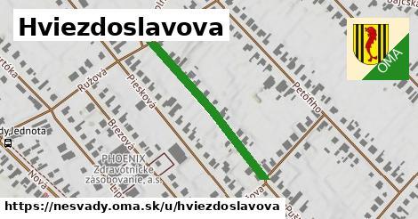 ilustrácia k Hviezdoslavova, Nesvady - 318m