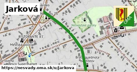 ilustrácia k Jarková, Nesvady - 418m