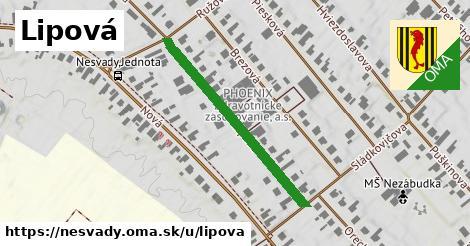 ilustrácia k Lipová, Nesvady - 351m