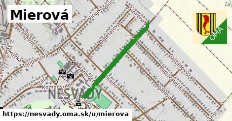 ilustrácia k Mierová, Nesvady - 591m