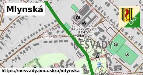 ilustrácia k Mlynská, Nesvady - 480m
