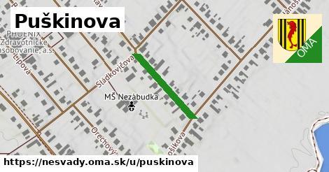 ilustrácia k Puškinova, Nesvady - 194m