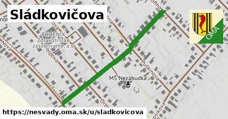ilustrácia k Sládkovičova, Nesvady - 460m