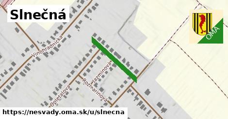 ilustrácia k Slnečná, Nesvady - 184m