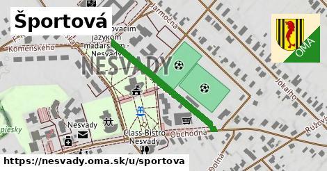 ilustrácia k Športová, Nesvady - 320m