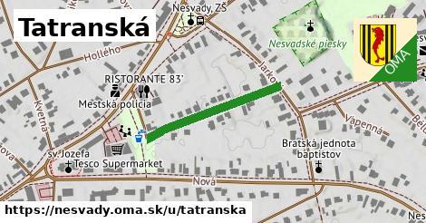 ilustračný obrázok k Tatranská, Nesvady
