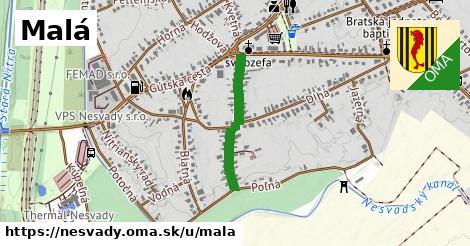 ilustrácia k Malá, Nesvady - 450m