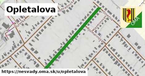 ilustrácia k Opletalová, Nesvady - 424m