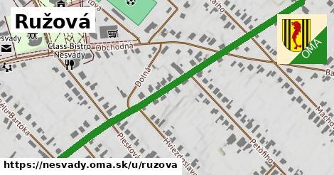 ilustrácia k Ružová, Nesvady - 0,84km