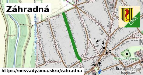 ilustrácia k Záhradná, Nesvady - 546m