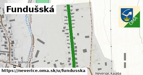 ilustrácia k Fundušská, Neverice - 344m