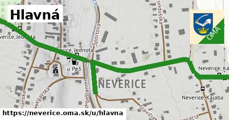 ilustrácia k Hlavná, Neverice - 0,85km
