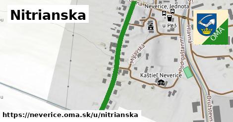 ilustrácia k Nitrianska, Neverice - 400m