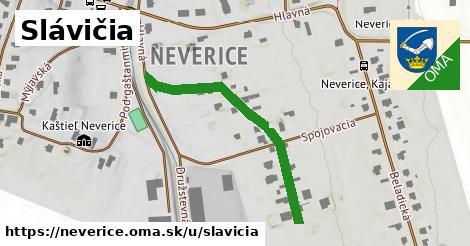 ilustrácia k Slávičia, Neverice - 387m