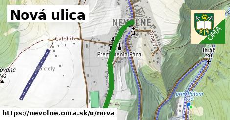 ilustrácia k Nová ulica, Nevoľné - 622m