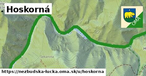 ilustrácia k Hoskorná, Nezbudská Lúčka - 2,1km