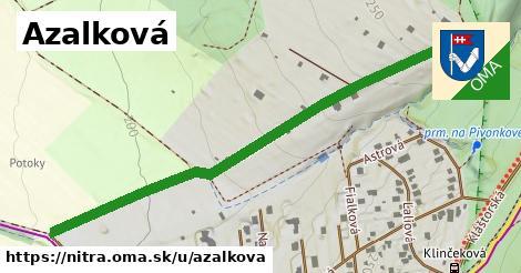 ilustračný obrázok k Azalková, Nitra