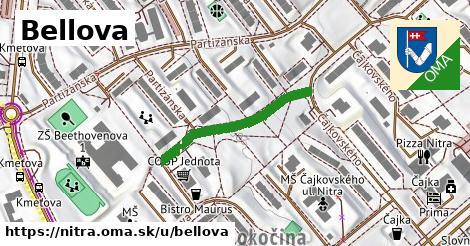 ilustrácia k Bellova, Nitra - 271m