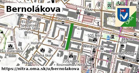 ilustrácia k Bernolákova, Nitra - 143m