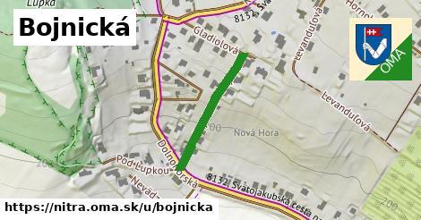 ilustrácia k Bojnická, Nitra - 237m