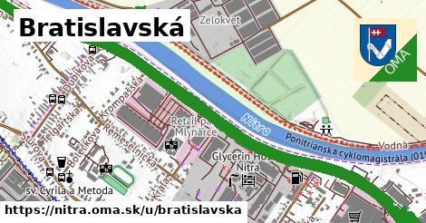 ilustračný obrázok k Bratislavská, Nitra