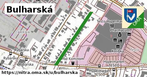 ilustračný obrázok k Bulharská, Nitra