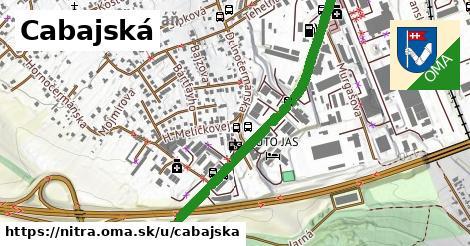 ilustrácia k Cabajská, Nitra - 4,0km