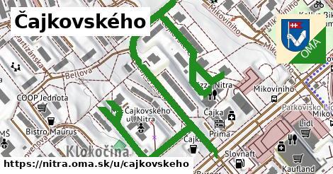 ilustračný obrázok k Čajkovského, Nitra