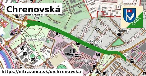 ilustrácia k Chrenovská, Nitra - 2,0km