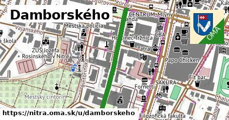 ilustračný obrázok k Damborského, Nitra