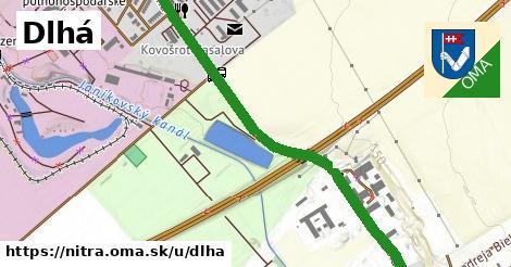 ilustrácia k Dlhá, Nitra - 4,1km