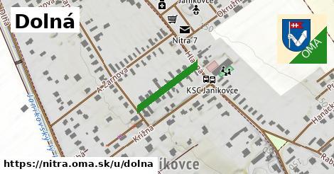 ilustrácia k Dolná, Nitra - 169m