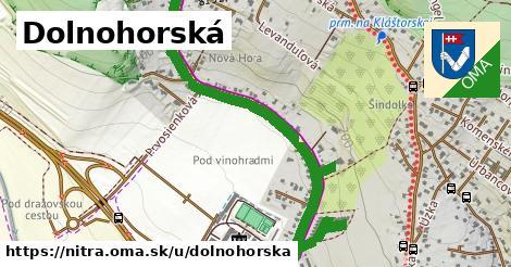 ilustrácia k Dolnohorská, Nitra - 1,60km