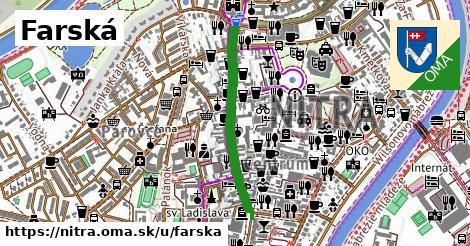 ilustrácia k Farská, Nitra - 615m