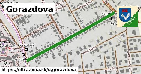 ilustrácia k Gorazdova, Nitra - 529m