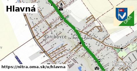 ilustračný obrázok k Hlavná, Nitra