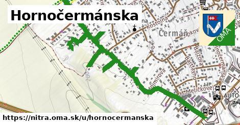 ilustračný obrázok k Hornočermánska, Nitra