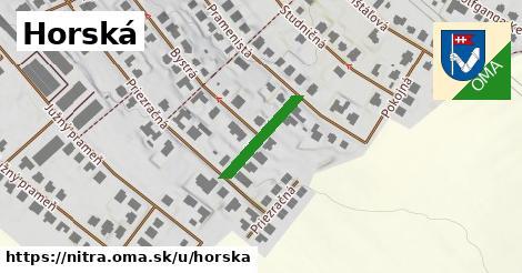 ilustrácia k Horská, Nitra - 158m