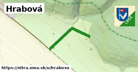 ilustrácia k Hrabová ulica, Nitra - 238m