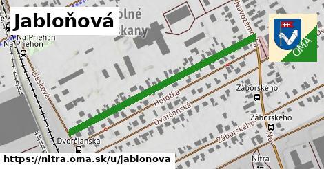 ilustrácia k Jabloňová, Nitra - 485m
