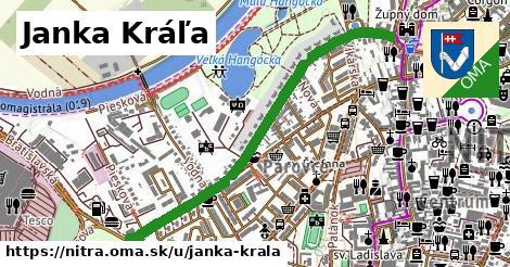 ilustrácia k Janka Kráľa, Nitra - 1,10km