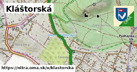 ilustrácia k Kláštorská, Nitra - 2,7km