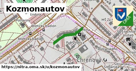 ilustrácia k Kozmonautov, Nitra - 187m