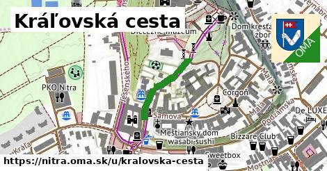 ilustrácia k Kráľovská cesta, Nitra - 185m