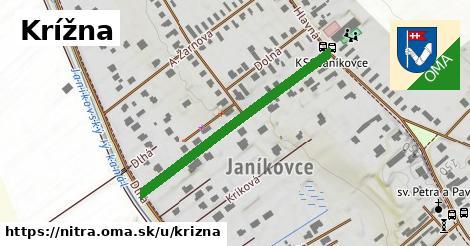 ilustrácia k Krížna, Nitra - 377m