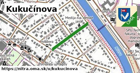 ilustrácia k Kukučínova, Nitra - 237m
