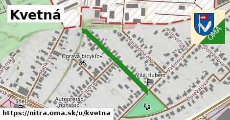 ilustrácia k Kvetná, Nitra - 274m