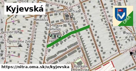 ilustrácia k Kyjevská, Nitra - 262m