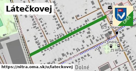 ilustračný obrázok k Látečkovej, Nitra