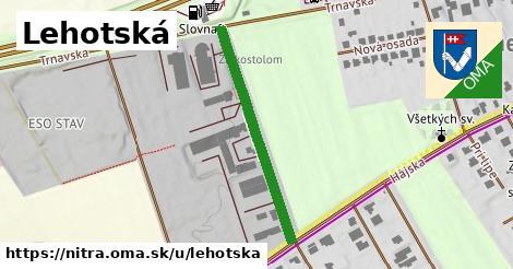 ilustračný obrázok k Lehotská, Nitra